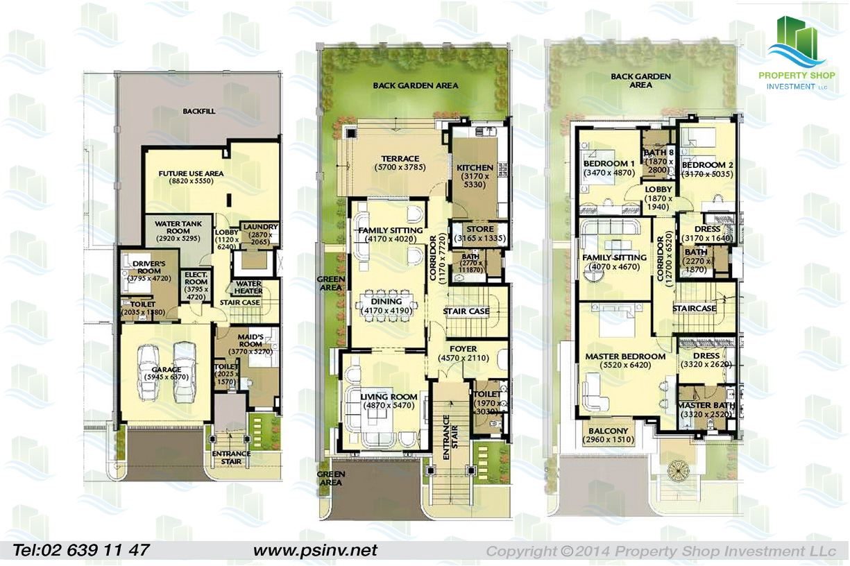 Al forsan village floor plans abu dhabi 3 bedroom villa floor plans