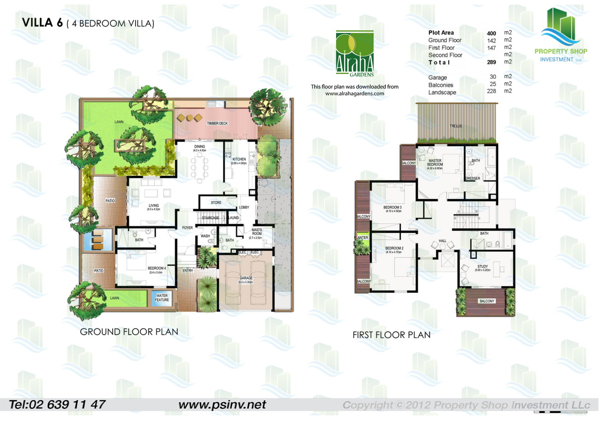 Floor plans yasmina al raha gardens for Architectural design companies in abu dhabi