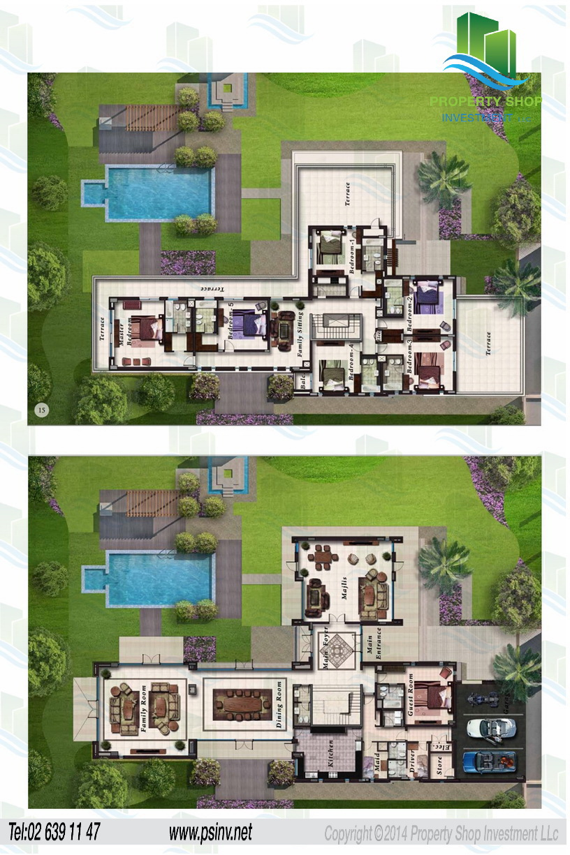 Floor Plans Of Marina Sunset Bay