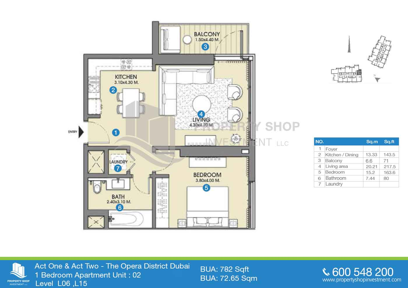Act One Act Two In Emaar Properties Apartments Property Shop Investment