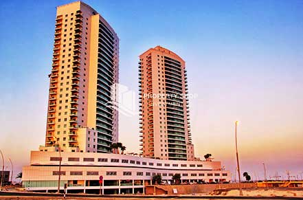 1BR AMAYA TOWERS AED 65K