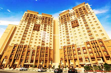 1BR APT THE GARDENS AED 60K