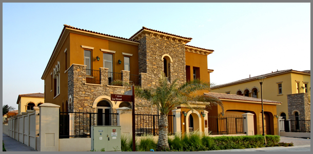 Abu dhabi villas town house for Home of architecture uae
