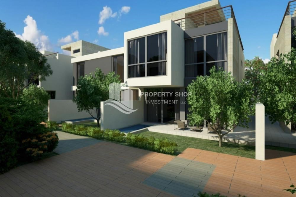 Property-5BR  townhouse with garden view plus private pool in Bloom Gardens