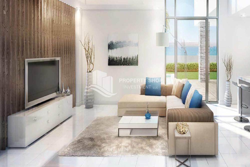 Living Room-Offplan TH with attractive payment plan available to all nationalities