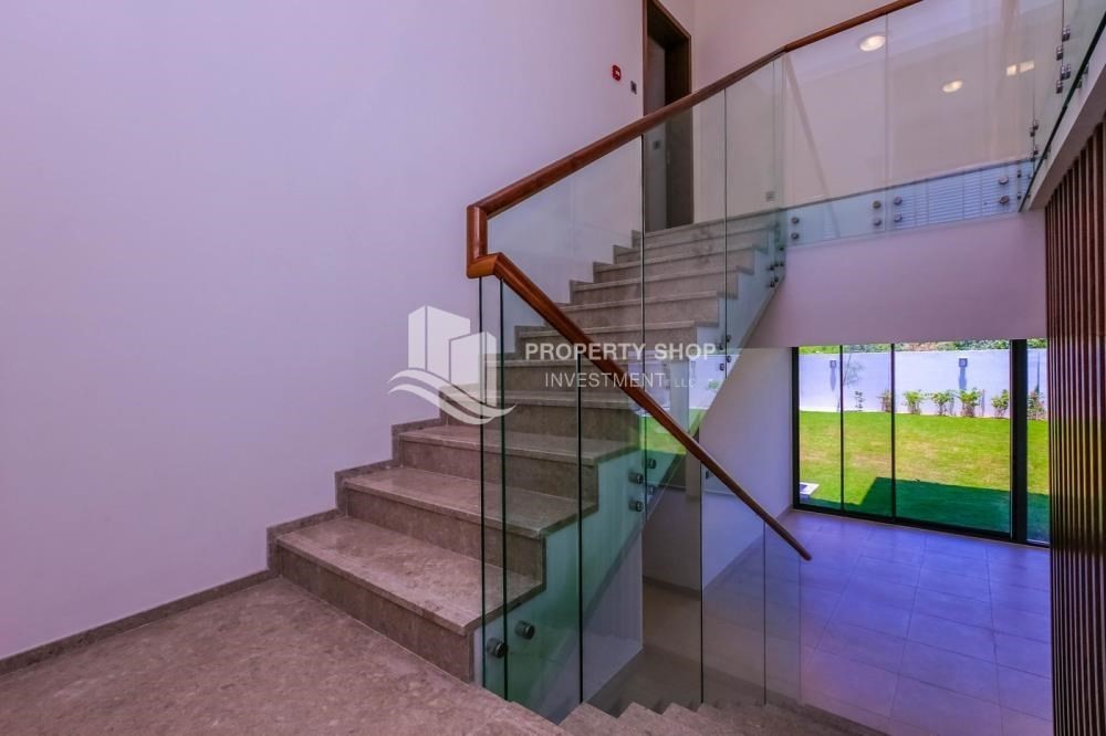 Stairs-High end villa with huge garden + Majlis