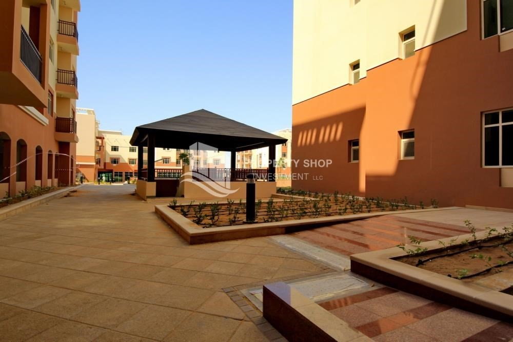 Community-1 Bedroom apartment for rent in Al Ghadeer!
