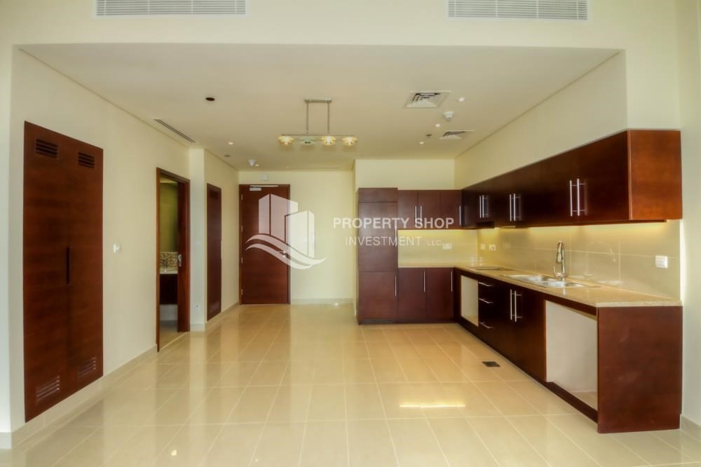 Kitchen-1 Bedrrom Apartment in spectacular view FOR RENT