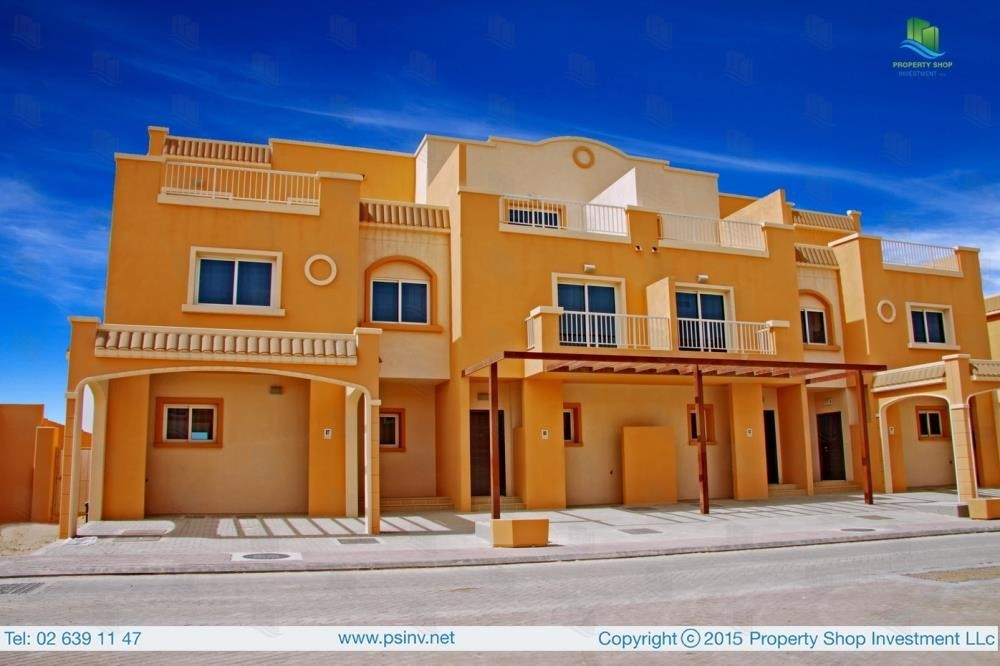 2 Bedroom Villa For Rent In Mediterranean Village Al Reef Vi17423