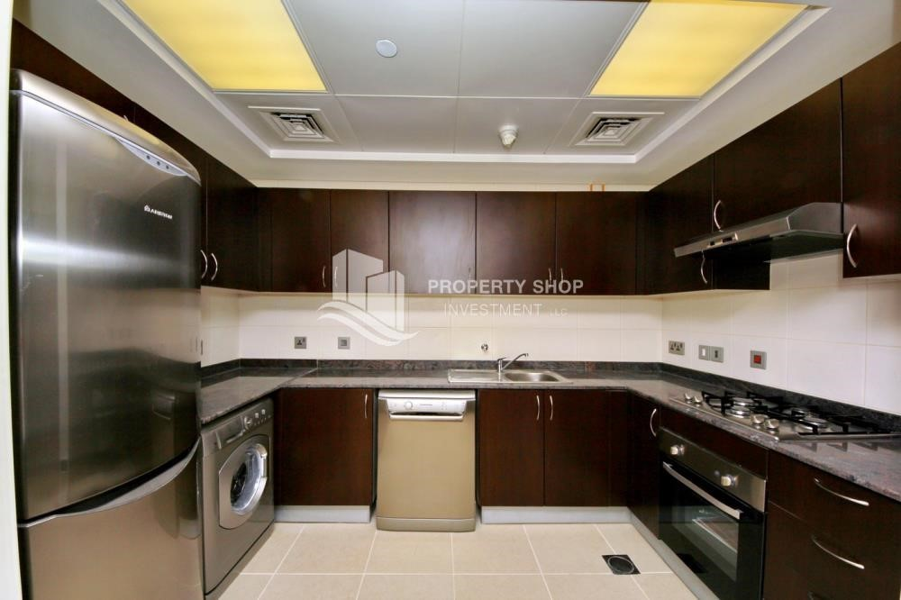 Kitchen-Mid-floor 2BR Apt- Big Size  with full facilities.