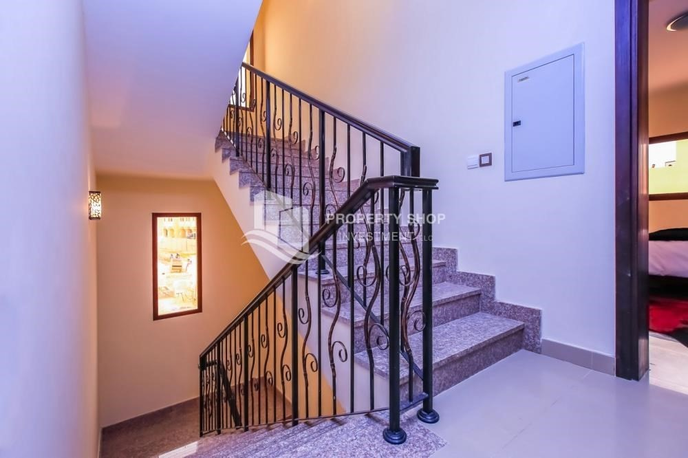 Stairs-Elegant 2BR Villa w/High End Finishing