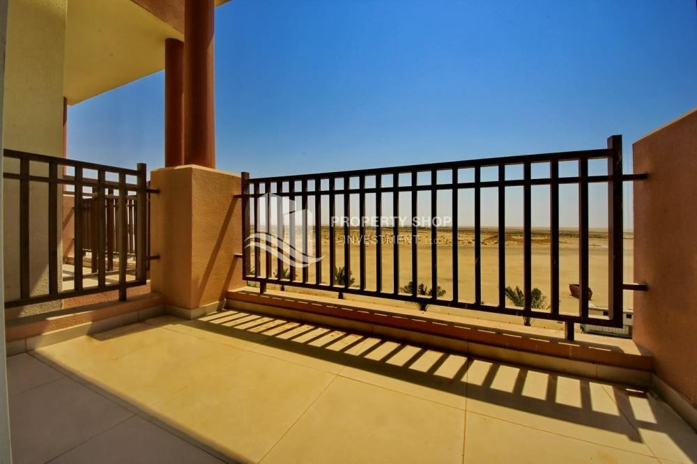 Balcony-1 Bedroom apartment for rent in Al Ghadeer!