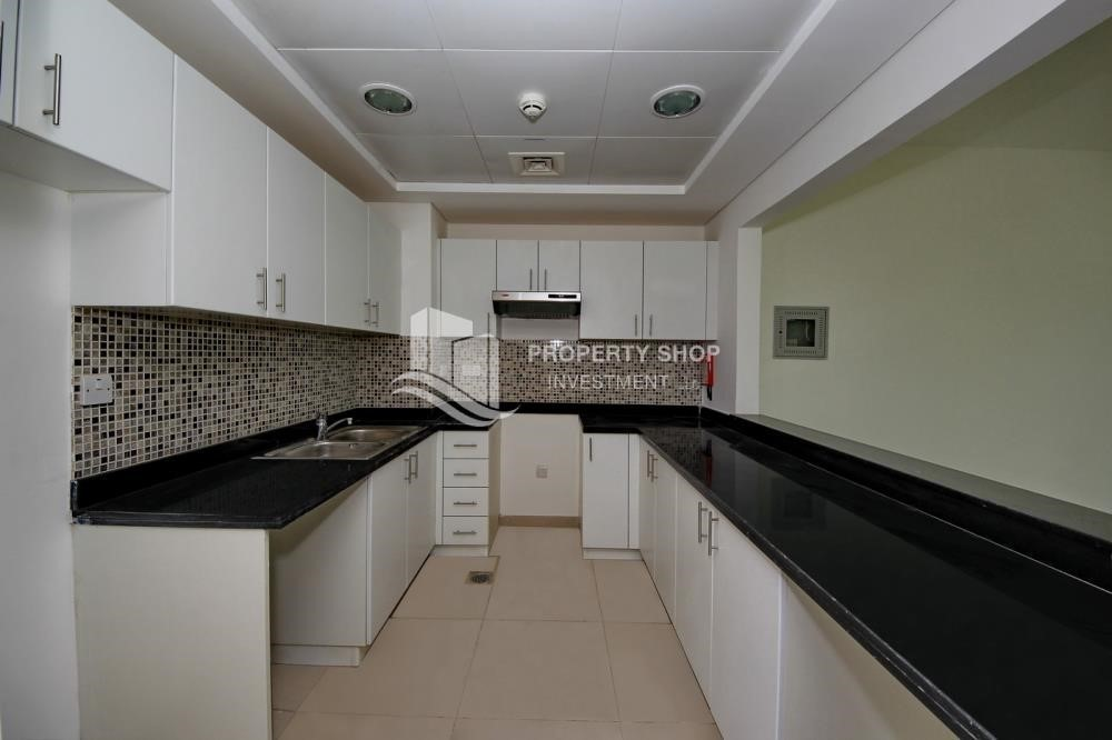 Kitchen-1 Bedroom apartment for rent in Al Ghadeer!