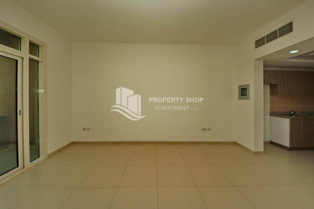 Dining Room-Building Studio available for rent in Al Ghadeer immediately