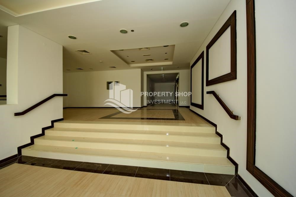 Lobby-Building Studio available for rent in Al Ghadeer immediately