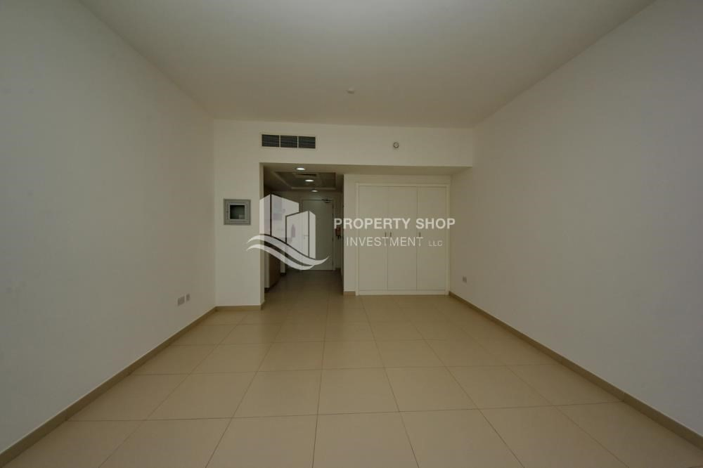 Dining Room-Studio apartment for sale in Al Ghadeer