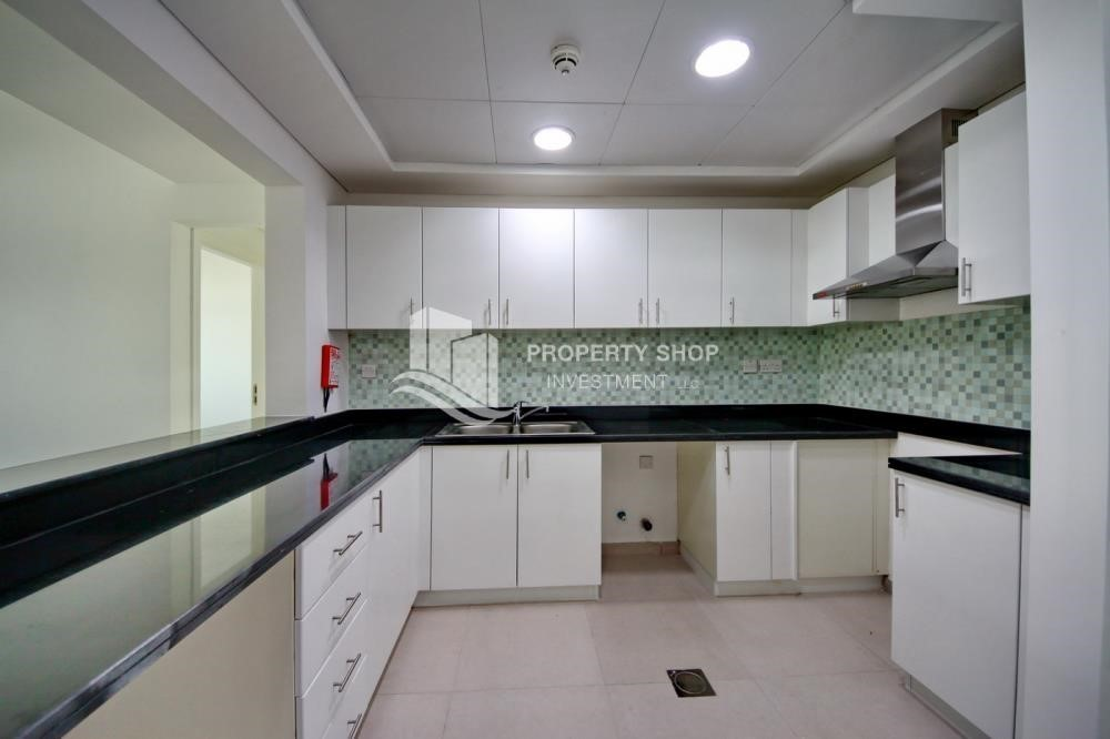Kitchen-2BR terraced appartment for sale in Ghadeer