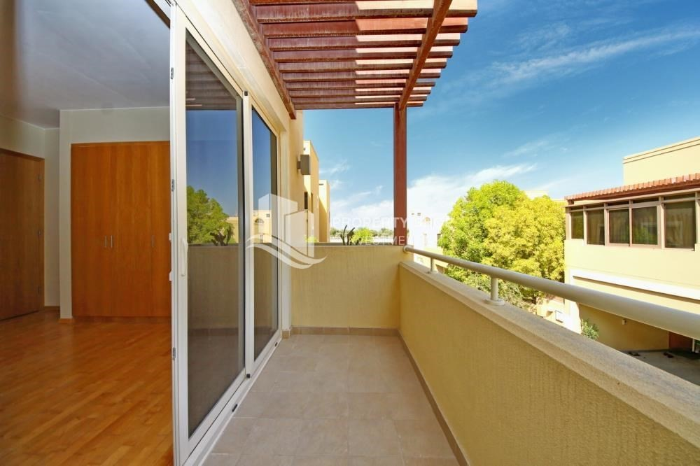 Balcony-Single Row Elegant 4BR Townhouse - A.