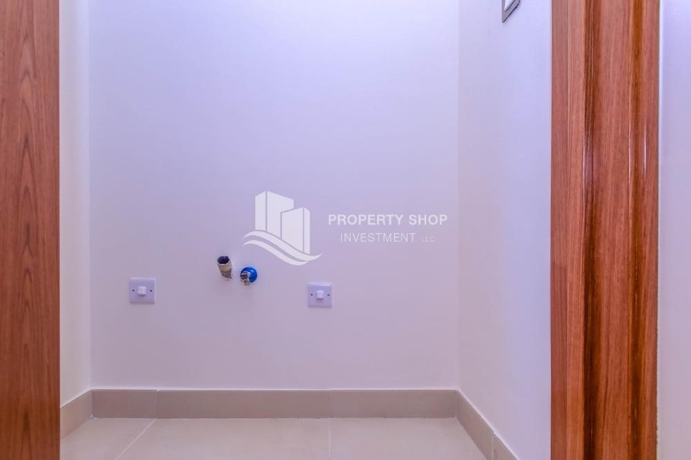 Laundry Room-Own a luxurious 4BR villa in Yas Island(West Yas)