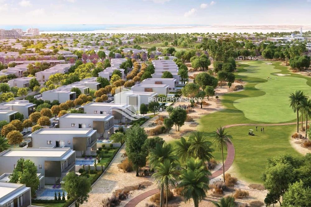 Community-Flexible payment options for offplan property in Yas Acres.