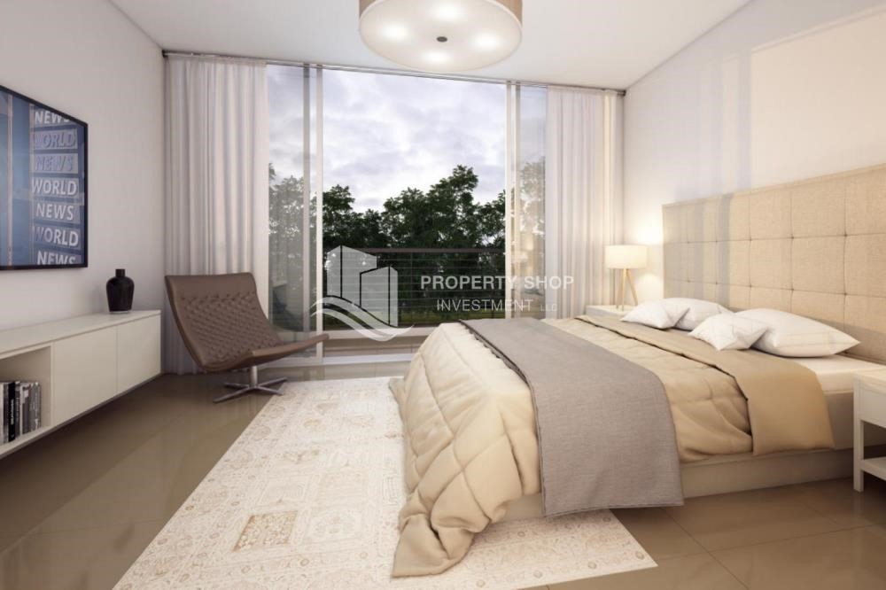 Bedroom-Exclusive 3BR TH with relaxing private pool.