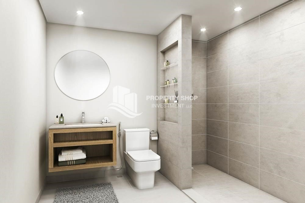 Bathroom-Great deal for investment! Own Studio with 3 years service charge free +zero commission