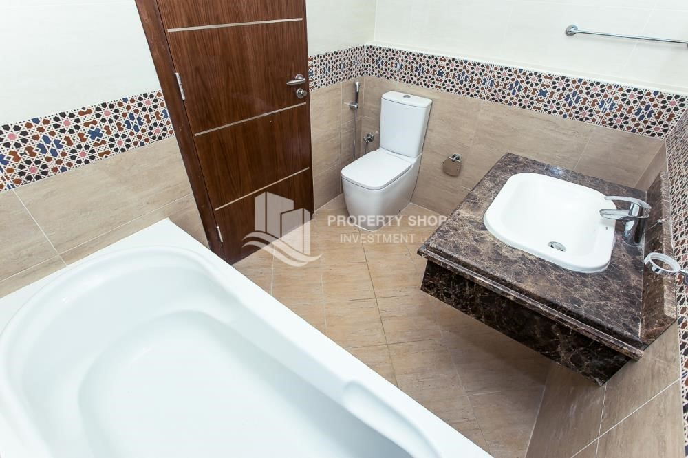 Bathroom-Brand New, 2 Br apartment in Al Raha Beach